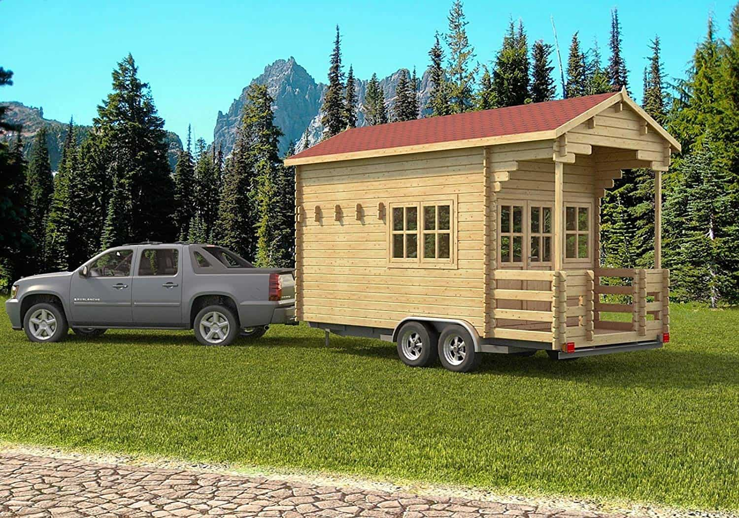 Build It Yourself Campers Build It Yourself Cabin Kits: Tiny House Plans You Can Easily Build Yourself From A Tiny