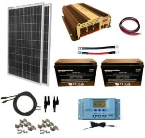 solar panel kit for tiny house