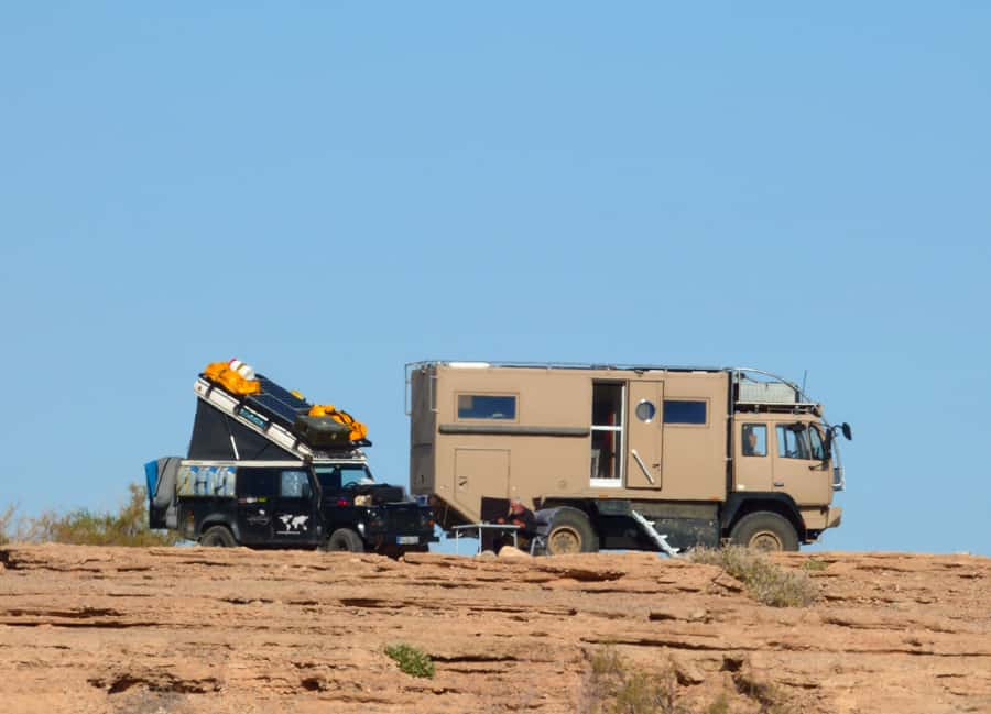 boondocking RV